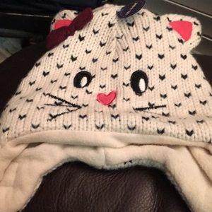 New kitty hat-12-24 months. MeWow